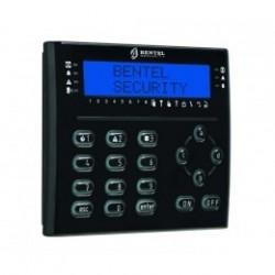 Tastiera LCD T-NERO BENTEL con lettore di badge