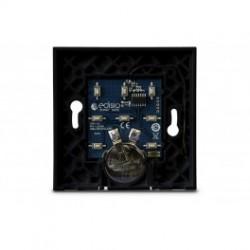 Edisio EBP8-B - Base intrrupteur noire 1 à 5 canaux