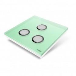 EDISIO de la cubierta de la Placa de Diamante - la Luz Verde de 3 llaves