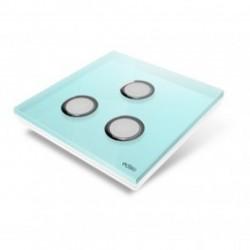 EDISIO de la cubierta de la Placa de la Luz del Diamante Azul de 3 llaves