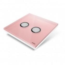 EDISIO de la cubierta de la Placa de Diamante de color Rosa-2 llaves