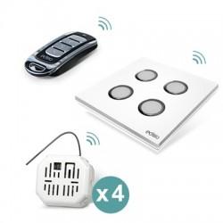 EDISIO - Pack automatik 4 rollläden