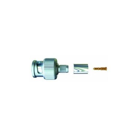 BNC-stecker crimp, für video-kabel KX6