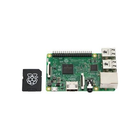 LAMPONE PI3 - Raspberry Pi 3 Modello B con micro SD card fino a 16 Gb