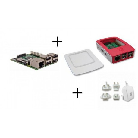 Raspberry PI3 - Raspberry Pi3 pack with power supply and case