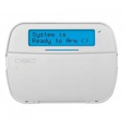 PowerSeries NEO Teclado DSC LCD HS2LCDP DSC con la insignia del lector