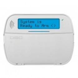PowerSeries NEO Teclado DSC LCD de radio HS2LCDWFPV con voz y lector de placas de identificación