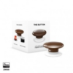 FIBARO - command Button, The Button Z-Wave brown
