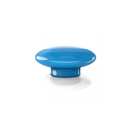 FIBARO - command Button, The Button Z-Wave Over blue