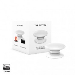 FIBARO - command Button, The Button Z-Wave Plus white FGPB-101
