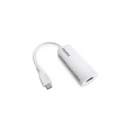 ZIPATO - RTL8152 Adattatore Micro-USB a Ethernet per Zipatile