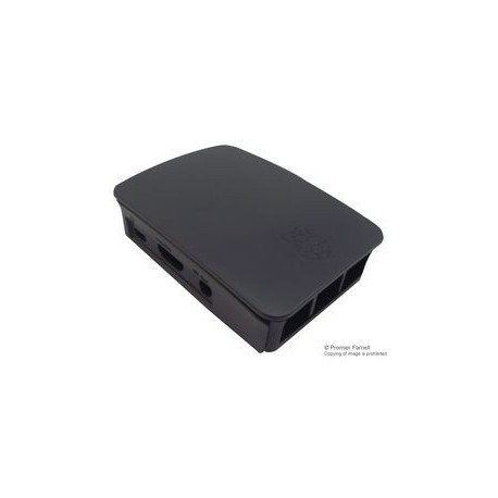 RASPBERRY PI3 - Gehäuse für Raspberry Pi 3 schwarz / grau