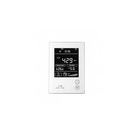MCOHOME - humidity Sensor, temperature and Co2 with screen Z-Wave More
