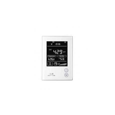 MCOHOME - Sensore di umidità, temperatura e Co2 con schermo Z-Wave Più