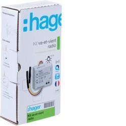 Hager - Kit va et vient sans neutre TRM150M