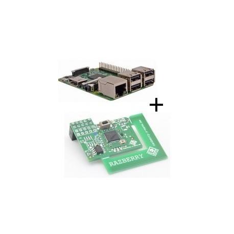 Raspberry pi - Raspberry Pi 3 Model B (WiFi und Bluetooth) - karte mit z-wave.mich
