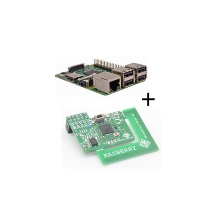 Raspberry - Raspberry Pi 3 Model B (WiFi and Bluetooth) with adapter z-wave.me
