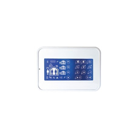 WK160 DSC Wireless Premium - touch Tastiera per centrali di allarme Wireless Premium