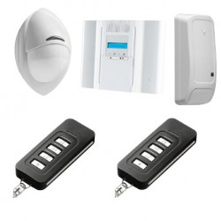 Alarme DSC Wireless Premium - Pack alarme Wireless Premium PowerG F1/ F2