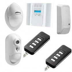 Alarm DSC Wireless Premium - Pack alarm IP detector camera PowerG