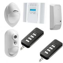 DSC-Wireless Premium - Pack alarm-IP-verbindung mit sensor-kamera PowerG