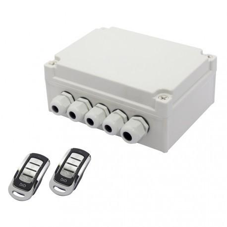 DIO ED-GK-01 - Kit di giardino con due telecomandi a 4 canali
