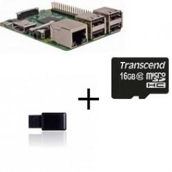 Raspberry PI 3 Jeedom Z-Wave Più