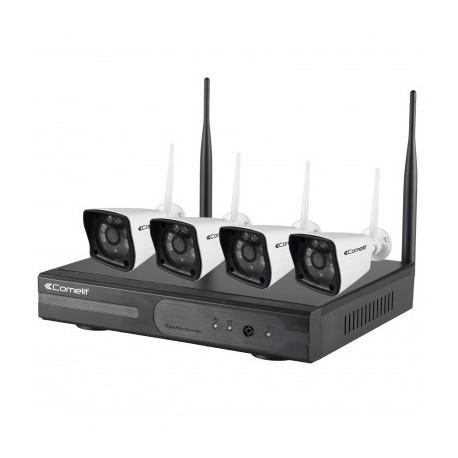 KIT vidéosurveillance wifi Comelit WIKIT040PT