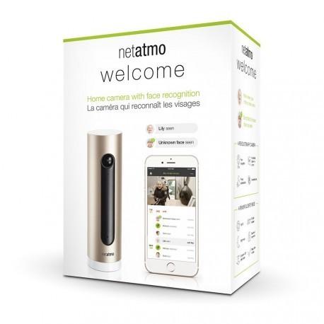 NETATMO NSC01-FUE - Bienvenida-in de la Cámara con reconocimiento facial
