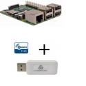 Raspberry Pi 3 controlador Z-wave Más Everspring SA413