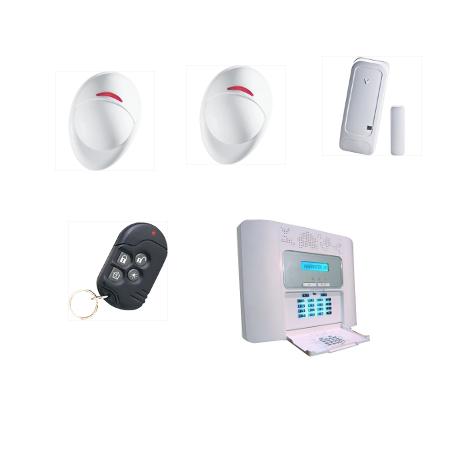 Allarme casa PowerMaster30 Visonic NFA2P popur custodia tipo F2 / F3