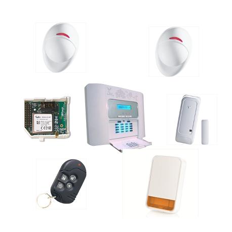 Allarme casa PowerMaster 30 Visonic NFA2P custodia KIT 2 Plus GSM