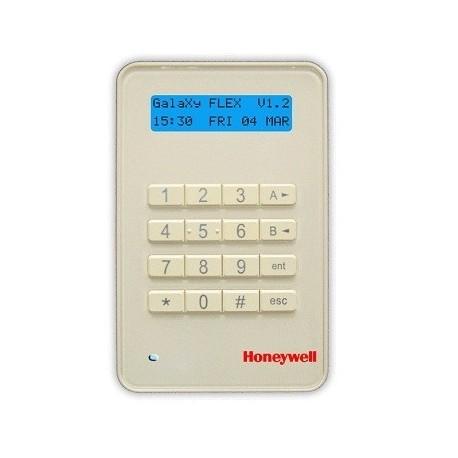 Teclado LCD Keyprox MK8 Honeywell para la central de alarma de la Galaxia