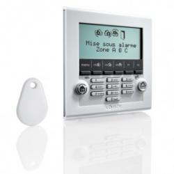 Somfy allarme - Tastiera LCD con lettore di badge