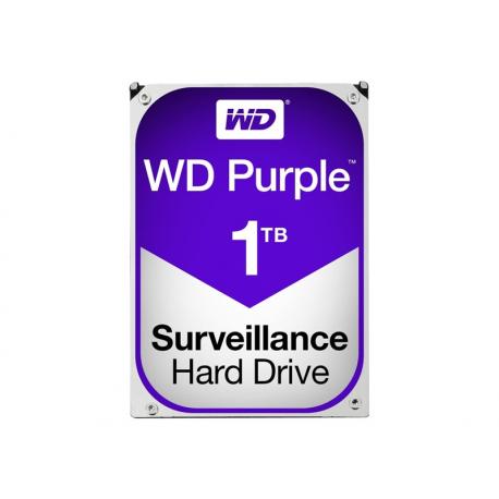 """Unidad de disco duro de color Púrpura - Western Digital de 1 tb a 5400 rpm, 3,5"""""""