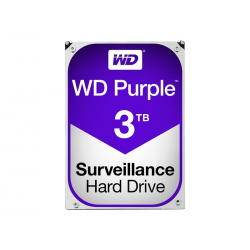"Hard drive Purple - Western Digital 3TB 5400 rpm 3.5""hdd"
