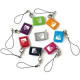 Badge Visonic lot of 3 TAG color