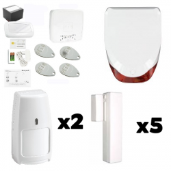 Pack Alarme LE SUCRE - Pack Honeywell pour maison Type F6 / F7