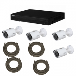 Pack videoüberwachung DAHUA IP-2MP 4 kameras