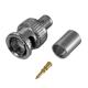 BNC plug to crimp for cable HR6