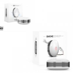 Fibaro pack détecteur de fumée et de monoxyde de carbone Z-Wave Plus