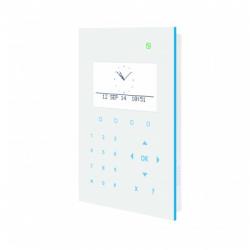Clavier alarme SPCK521 lecteur de badge et synthèse vocale Vanderbilt