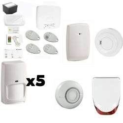 Alarma EL AZÚCAR Honeywell - Pack de seguridad de Honeywell