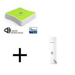 Eedomus plus - Pack sécurité Eedomus Plus avec clé 4G Huawei (E3372)