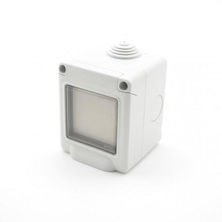 Trio2sys - Interruptor impermeable EnOcean blanco