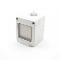 Trio2sys - Interruptor impermeable EnOcean blanco 2 llaves