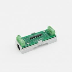 EUTONOMY - Adaptador de euFIX DIN para Fibaro FGS-223 sin botones