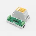 EUTONOMY S213NP - Adaptateur euFIX DIN pour Fibaro FGS-213 sans boutons