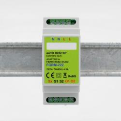 EUTONOMY R222NP - Adaptateur euFIX DIN pour Fibaro FGR-222 sans boutons