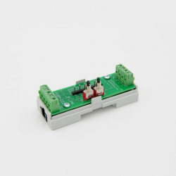 EUTONOMY R222 - Adapter euFIX DIN-RAIL module Fibaro FGR-222 with buttons